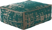 Gandia Blasco Canevas Soft Pouf Abstract