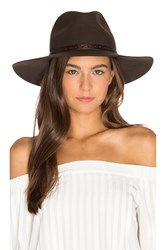 Rag And Bone Wide Brim Fedora Brown