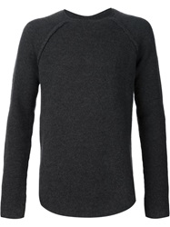 Lost And Found Crew Neck Sweater Grey