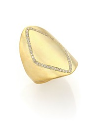 Ila Phineas Diamond And 14K Yellow Gold Ring