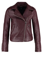 Dorothy Perkins Faux Leather Jacket Red