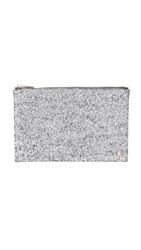 Deux Lux Starlight Pouch Silver