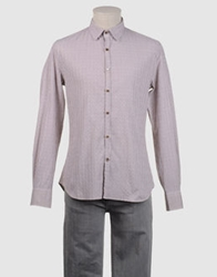 Guess By Marciano Long Sleeve Shirts Cocoa