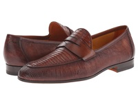 Magnanni Camerino Cognac Men's Slip On Dress Shoes Tan