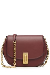 Marc Jacobs West End Leather Saddle Bag Red