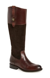 Frye Women's 'Jayden Button' Tall Boot Chocolate Oiled Suede