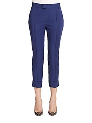 Band Of Outsiders Cuffed Ankle Pants Cobalt