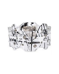 Christopher Kane Perspex Bracelet Black White