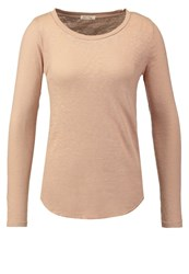 American Vintage Bikistate Long Sleeved Top Coquille Rose