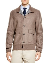 The Men's Store At Bloomingdale's Double Face Bomber Jacket