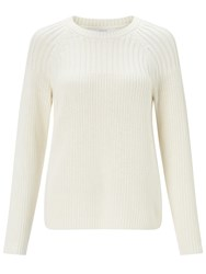 Collection Weekend By John Lewis Chunky Rib Jumper Cream