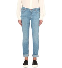 Closed United Straight Mid Rise Jeans Favourite Light Blue