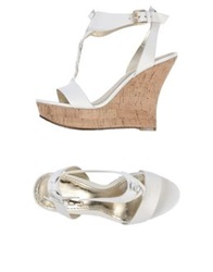 Belle By Sigerson Morrison Wedges White