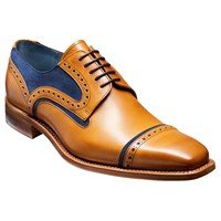 Barker Haig Cedar Toe Cap Derby Shoes Cedar