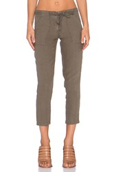 Sanctuary New Tappered Sash Pant Olive