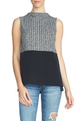 1.State Women's Colorblock Knit Sleeveless Top