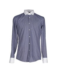 Boss Black Shirts Shirts Men Blue