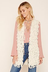 Forever 21 Shaggy Knit Vest