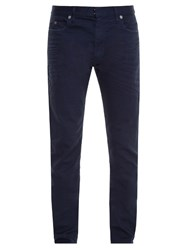 Maison Martin Margiela Dyed Slim Fit Jeans Blue