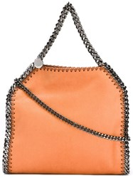 Stella Mccartney Mini 'Falabella' Tote Yellow And Orange