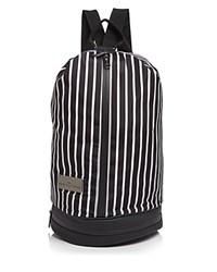 Adidas By Stella Mccartney Small Gym Bag Black White