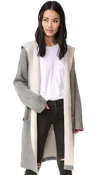 Blank Hooded Pocket Coat Chill Pill