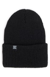Herschel 'Quartz' Knit Beanie Black