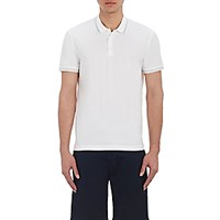 Theory Men's Tipped Boyd Tc Polo Shirt White