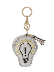 Anya Hindmarch Light Bulb Leather Key Holder Pouch