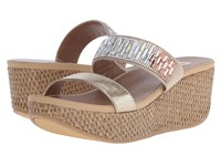 Yellow Box Bonnie Platino Women's Wedge Shoes Gold