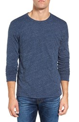 Faherty Men's Reversible T Shirt Navy Athletic