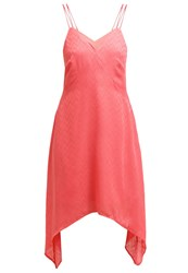 Kiomi Summer Dress Coral