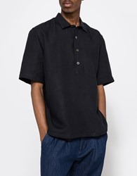 Our Legacy Popover Ss Shirt Marine