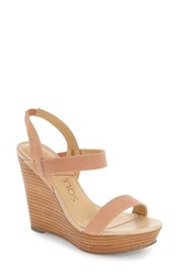 Women's Sole Society 'Penelope' Wedge Sandal 4 1 2' Heel