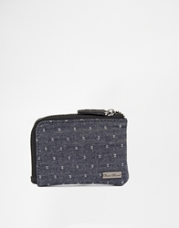 Icon Brand Paisley Zip Wallet Brown