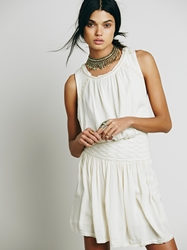 Free People Black Sands Dress Tea