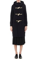 The Reracs Women's Wool Duffle Coat Black