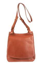 Will Leather Goods 'Cirrus' Leather Shoulder Crossbody Saddle Bag