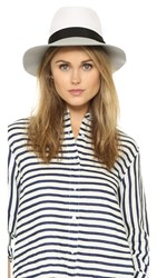 Rag And Bone Floppy Brim Fedora White Multi