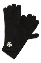 Women's Tory Burch 'Whipstitch' Wool Gloves