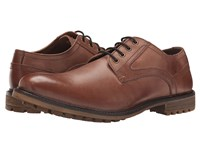 Hush Puppies Rohan Rigby Tan Leather Men's Lace Up Casual Shoes