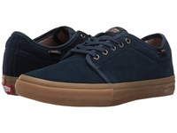 Vans Chukka Low Pro Dress Blues Gum Men's Skate Shoes