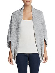 Saks Fifth Avenue Cocoon Cardigan Grey