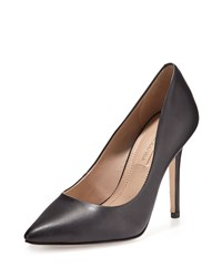 Bcbgmaxazria Opia Leather Pointed Toe Pump Blk