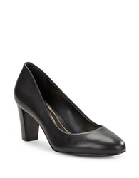 Lauren Ralph Lauren Hala Leather Pumps Black
