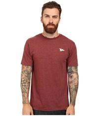 Primitive Arch Pennant Lightweight Tee Brown Heather Men's T Shirt