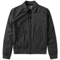 C.P. Company Arm Lens Flight Jacket Black