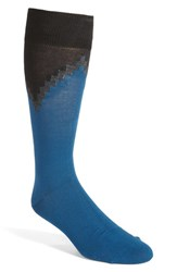 Calibrate Men's Grid Colorblock Socks