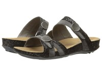 Romika Fidschi 22 Grey Black Women's Sandals Gray