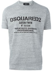 Dsquared2 'Sexy Slim' T Shirt Grey
